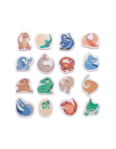 Puzzle baño dinosaurios