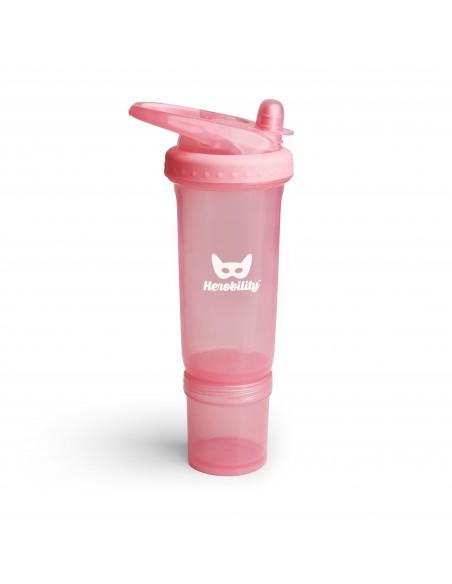 Botella Herosport rosa